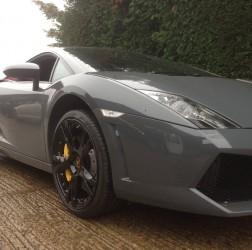 Lamborghini Gallardo 2 Piece wheels in Gloss Black