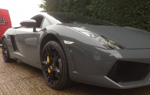 Lamborghini Gallardo 2 Piece wheels in Gloss Black